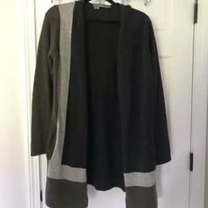 360 Cashmere Long Sweater Jacket